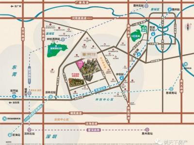 惠州世茂福晟钱隆华周围规划府_惠州世茂福晟钱隆华区域交通规划简介