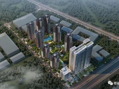 瀚康首府营销中心开放_轻轨旁·学府畔·60万㎡综合体配套新城