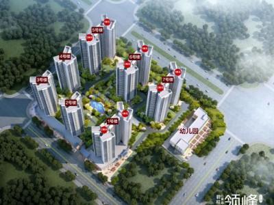 惠州碧桂园领峰花园均价14700元/平-最新在售户型图99-148平!