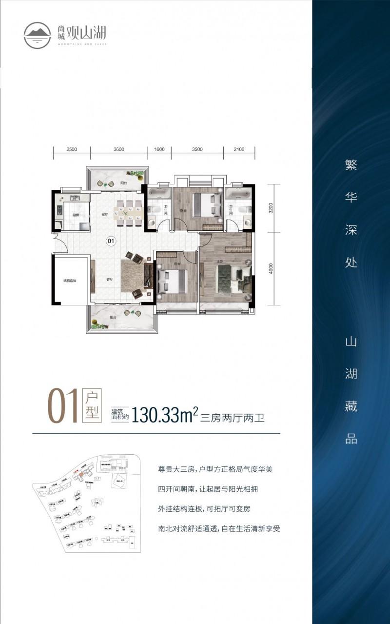 中山尚城·130平户型图