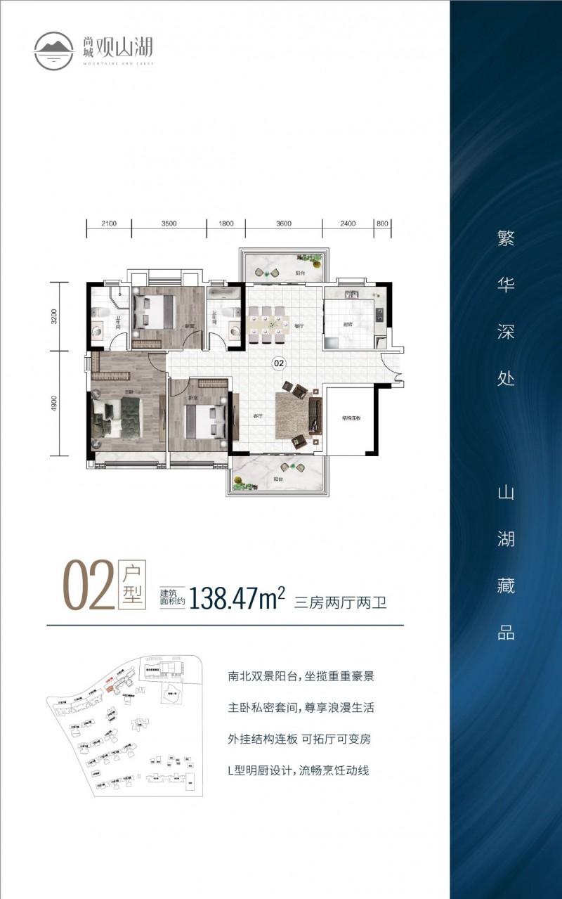 中山尚城·138平户型图