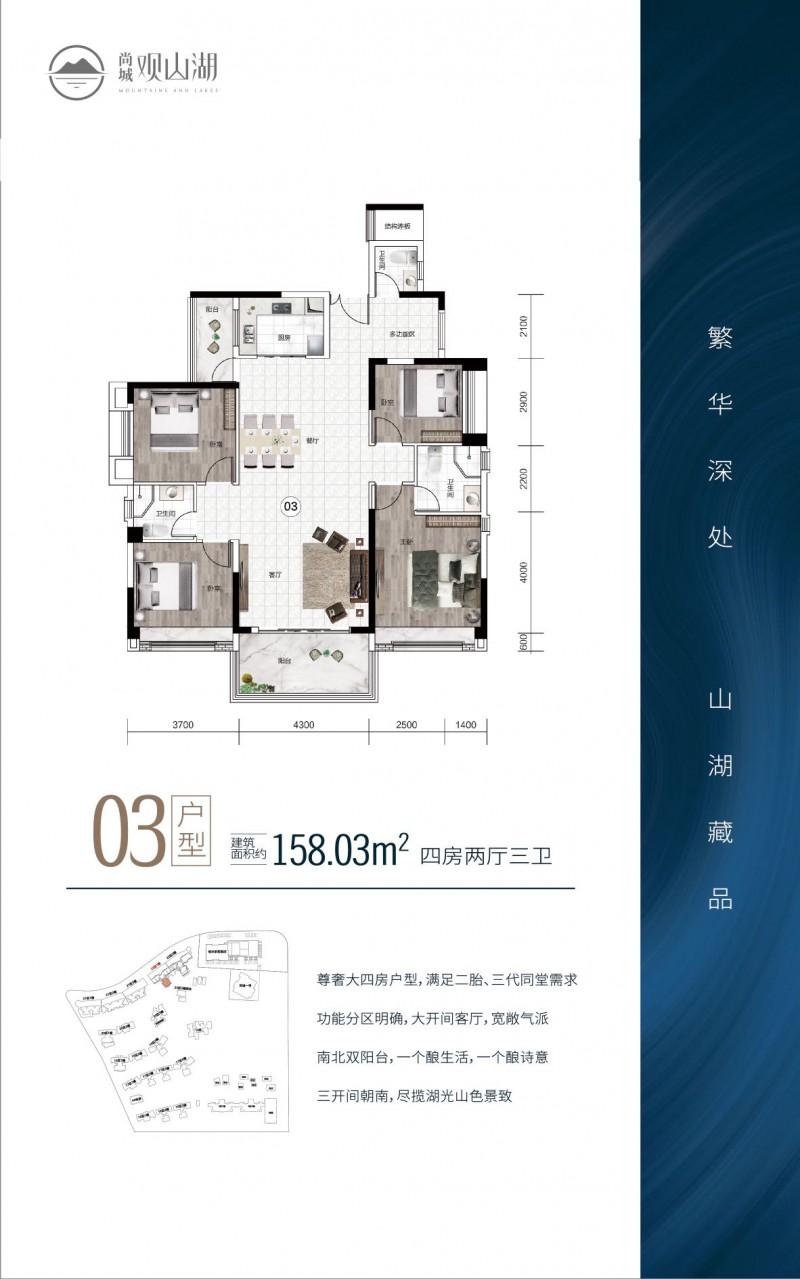 中山尚城·158平户型图